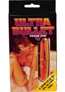 Ultra Bullet Power Vibrator - Gold