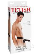 Fetish Fantasy Series Big Daddy Hollow Strap On Dong Black...