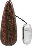 Primal Instinct Bullet With Remote Control - Snake Print -...