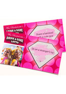 Miss Bachelorettes Drink And Dare Lotto Game (36 Cards Per...