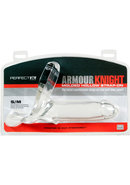 Perfect Fit Armour Knight Molded Hollow Strap-on Sm/md -...