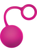 Inya Cherry Bomb Silicone Weighted Ball Pink