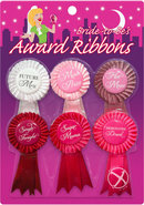 Bride-to-be`s Award Ribbons (6 Per Pack)