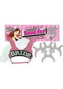 Bride To Be Naughty Tiara Set - Pink And Silver (5 Per Set)