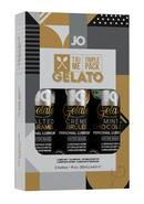 Jo Tri Me Triple Pack Gelato 3 Each 1 Ounce Bottles Salted...