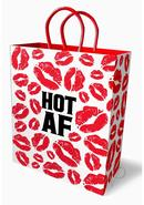 Hot Af Gift Bag Red/white