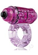 O Wow Vibrating Ring - Purple
